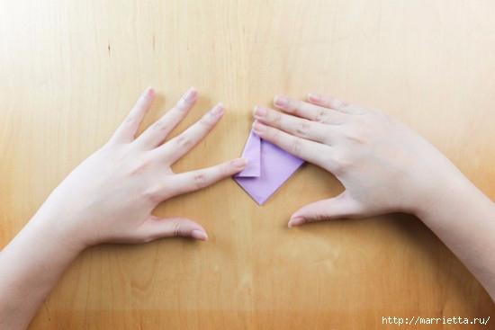 Как сложить тюльпаны в технике оригами (10) (550x367, 80Kb)