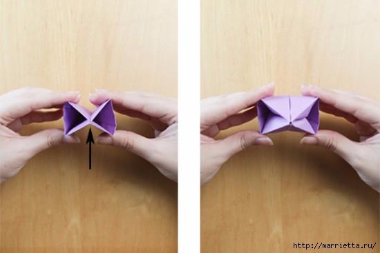 Как сложить тюльпаны в технике оригами (14) (550x367, 82Kb)
