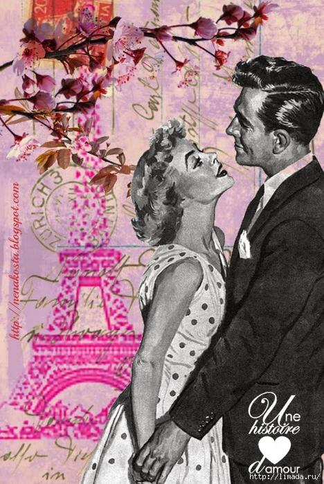 Una historia de amor-pareja-Maleta de Recortes (468x700, 314Kb)