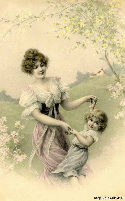 Vintage-Mother-Child-Image-GraphicsFairy (435x700, 251Kb)
