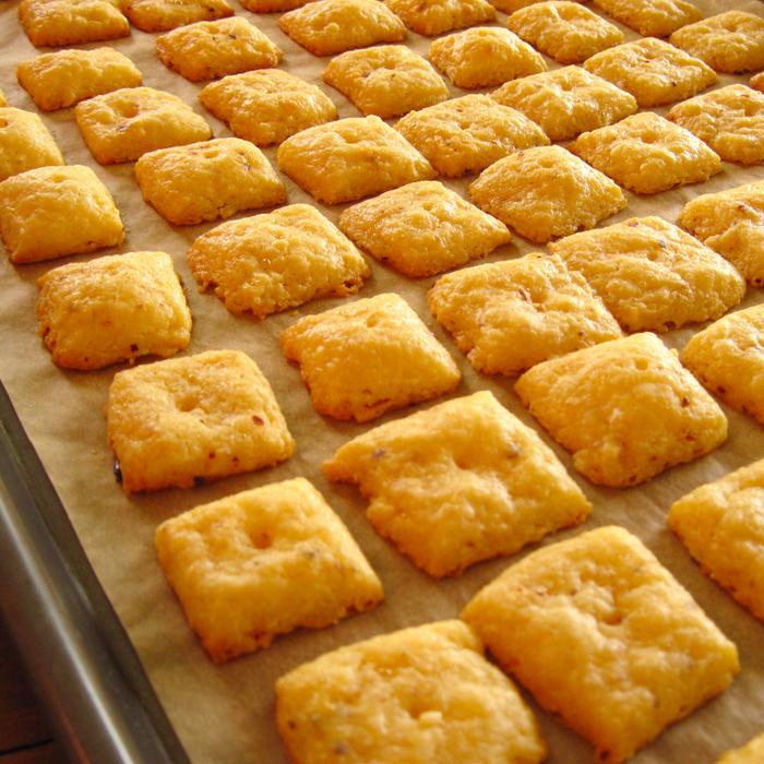 Крекер с сыром рецепт