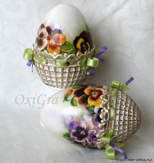 Очень красивые пасхальные яйца (6) (505x537, 174Kb)