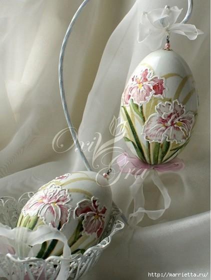 Очень красивые пасхальные яйца (10) (422x560, 131Kb)