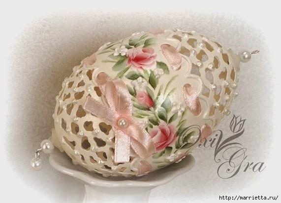 Очень красивые пасхальные яйца (22) (571x414, 130Kb)