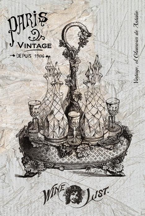 Wine list-Vintage, el Glamour de AntaГ±o (468x700, 392Kb)