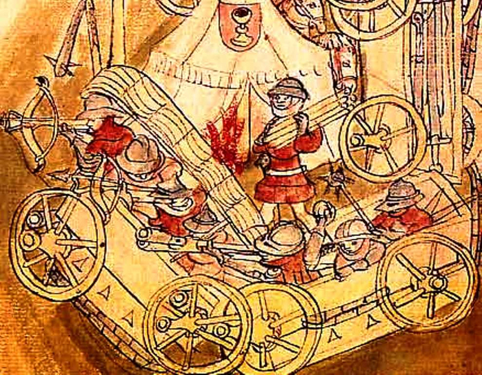 в 1420 году у деревни Судомерж