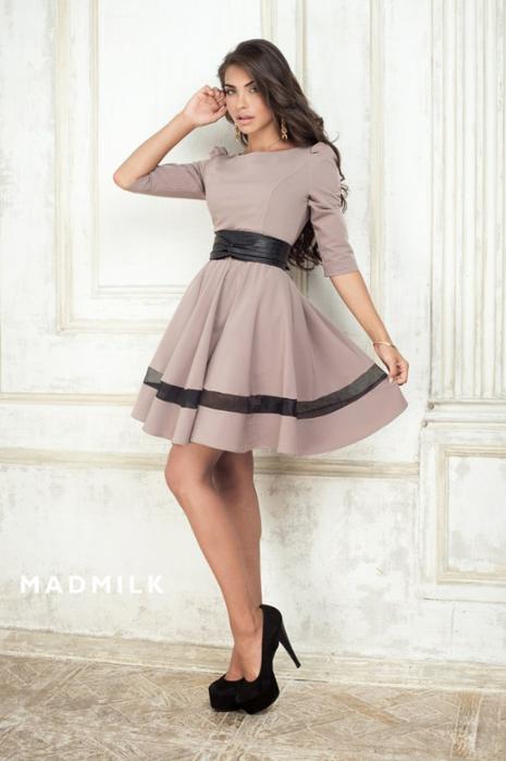 Платье С Широкой Юбкой