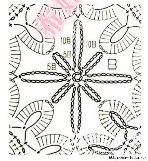 红钩花披肩。图(5)、(477x520 183Kb)