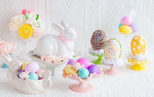 Белые шоколадные пасхальные яйца. Рецепт (1) (586x368, 468Kb)