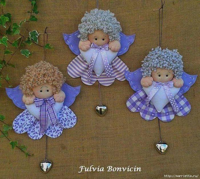 выкройка маленьких ангелочков (2) (700x626, 501Kb)