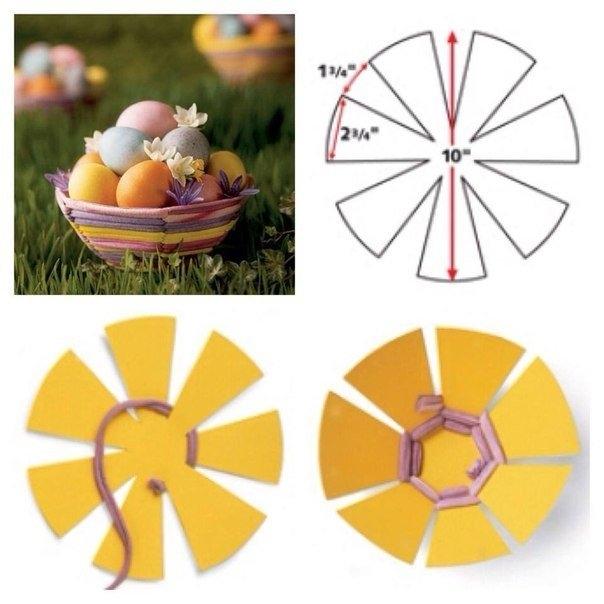 Как сделать яйца на пасху своими руками из бумаги - Voliomas.ru
