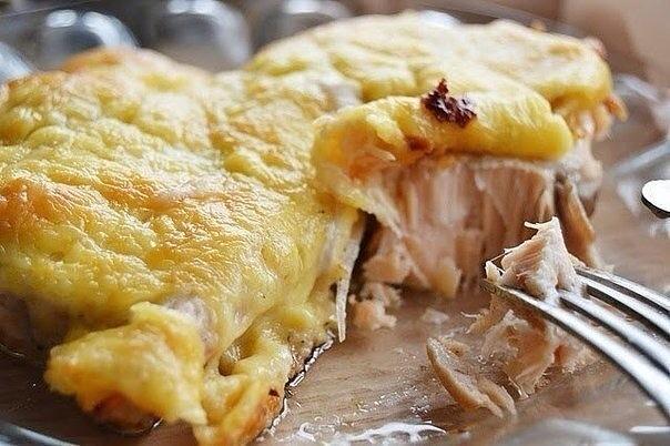 рыба в духовке с сыром рецепты с фото