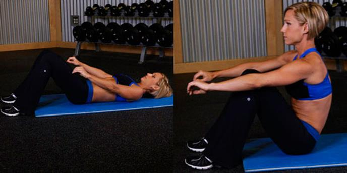 Лучшие упражнения для мышц пресса
