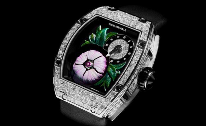 швейцарские часы Richard Mille RM 19-02 Tourbillon Fleur 1 (700x427, 212Kb)