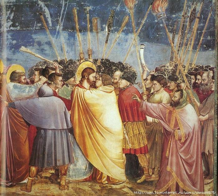 2791046_Giotto__Scrovegni__31__Kiss_of_Judas (700x630, 501Kb)