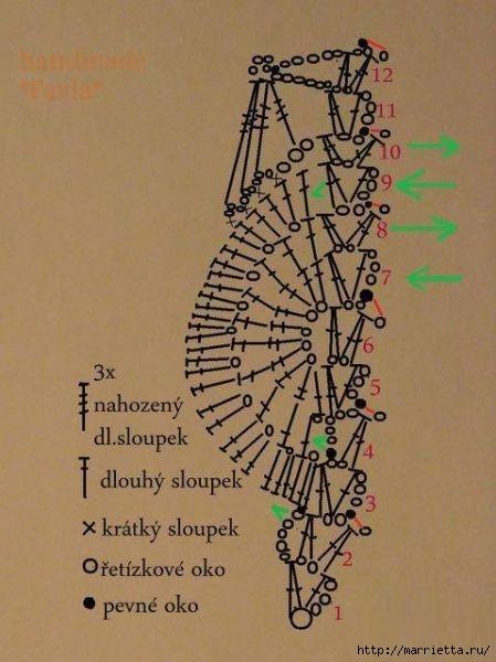 El pájaro decorativo - gancho de suspensión (34) (449x600, 134Kb)