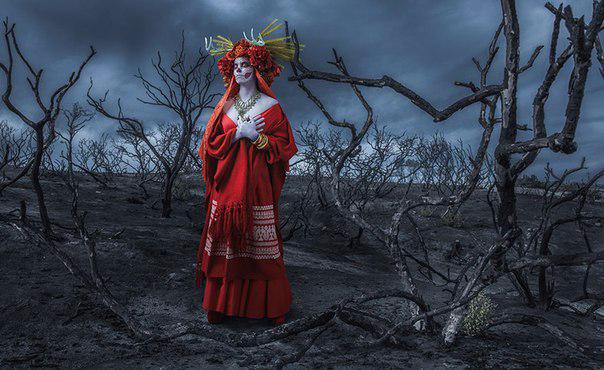 мексиканский праздник Las Muertas 6 (604x370, 215Kb)