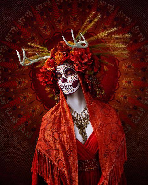 мексиканский праздник Las Muertas 8 (483x604, 405Kb)