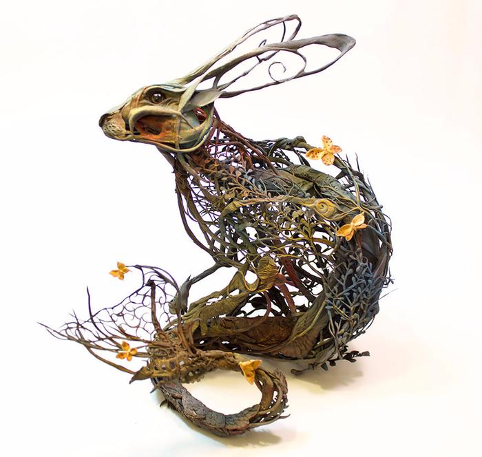 скульптуры Эллен Джеветт 5 (700x664, 356Kb)