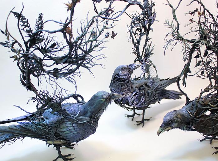 скульптуры Эллен Джеветт 11 (700x517, 495Kb)