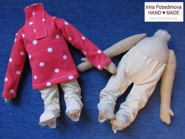 Кукла мастер класс домовенок