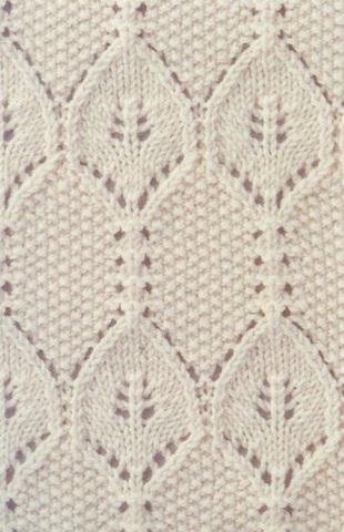 Красивейшие узоры вязания