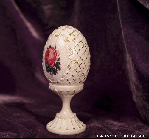 Сувенирное пасхальное яйцо с декупажем (500x468, 125Kb)