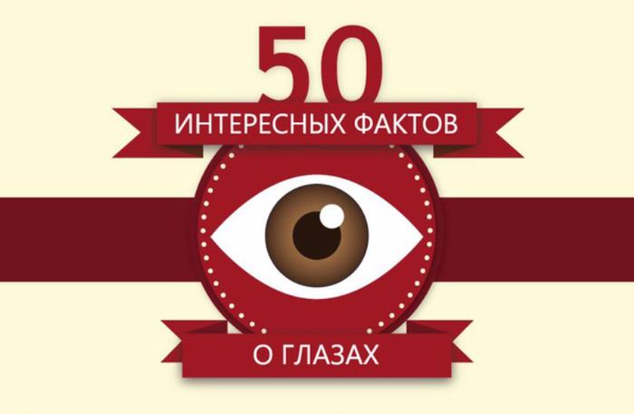 50 интересных фактов о глазах (700x457, 148Kb)