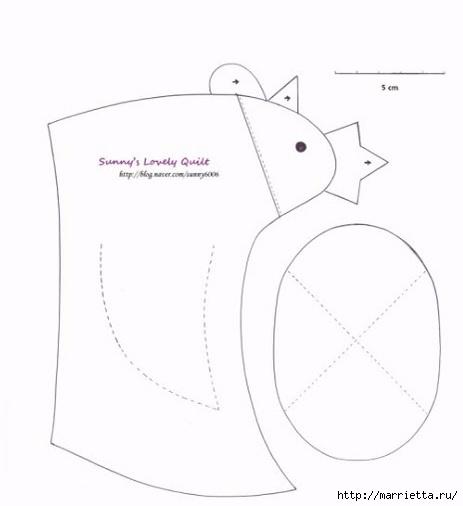 Шьем пасхальную корзинку КУРОЧКУ (1) (463x506, 43Kb)