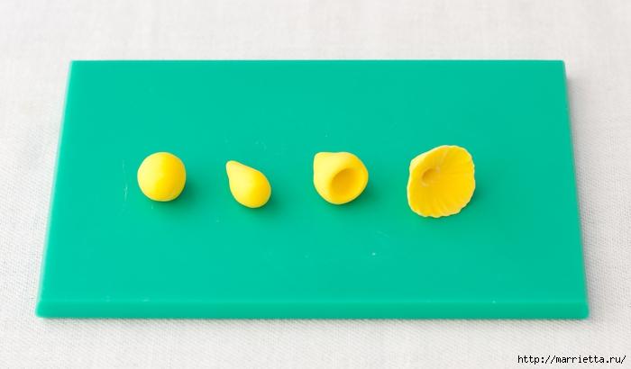 Сладкие НАРЦИССЫ из сахарной мастики (4) (700x410, 129Kb)