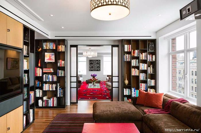 Дизайн интерьера одной квартиры в Нью-Йорке (1) (700x464, 252Kb)