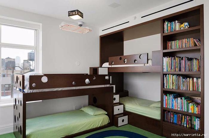 Дизайн интерьера одной квартиры в Нью-Йорке (4) (700x464, 206Kb)