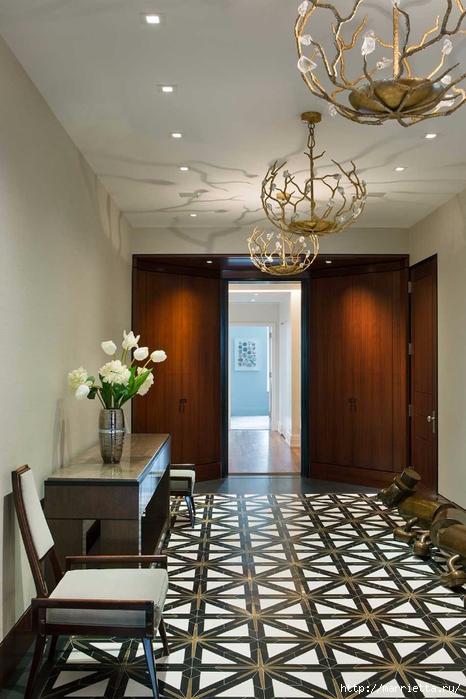 Дизайн интерьера одной квартиры в Нью-Йорке (10) (466x700, 246Kb)