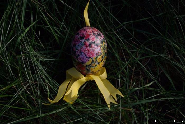 Пасхальные яйца в технике коллаж (1) (700x469, 260Kb)