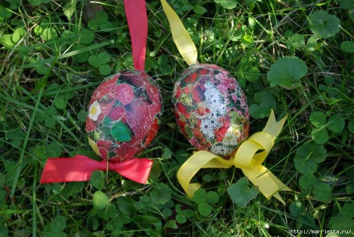 Пасхальные яйца в технике коллаж (3) (700x469, 322Kb)