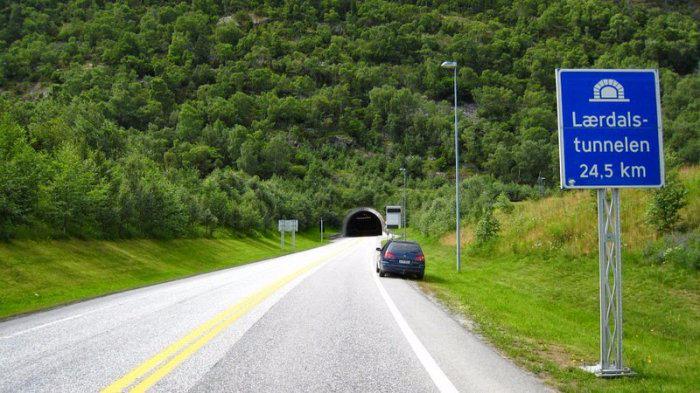 Лердальский туннель новегия 1 (700x393, 293Kb)