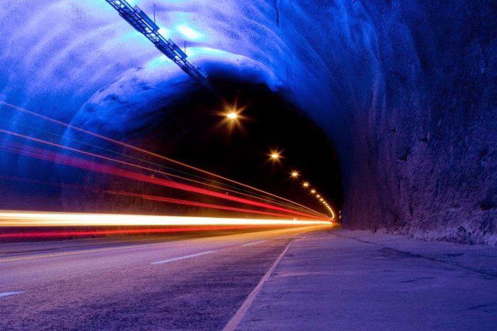 Лердальский туннель новегия 7 (700x466, 273Kb)