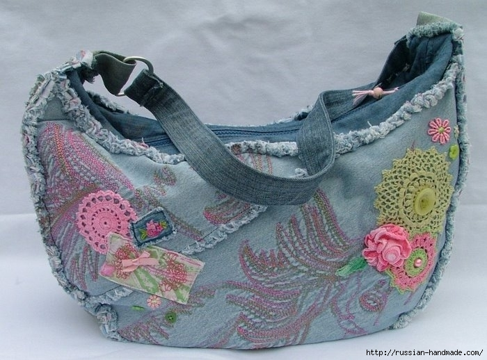 Модные сумки из старых джинсов (29) (700x518, 226Kb)