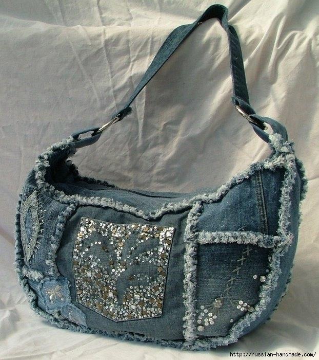 Модные сумки из старых джинсов (33) (622x700, 265Kb)