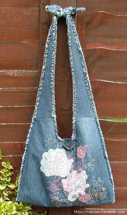 Модные сумки из старых джинсов (35) (416x700, 222Kb)
