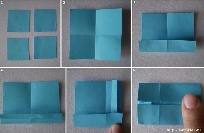 Бумажные цветы в горшочках в технике оригами (2) (691x451, 162Kb)