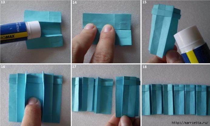 Бумажные цветы в горшочках в технике оригами (4) (692x416, 153Kb)