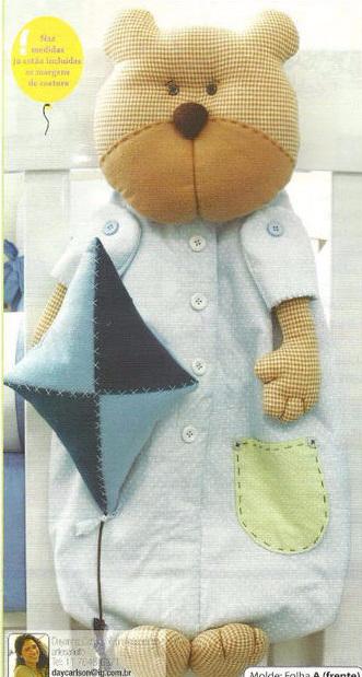 Игрушка для пижамы своими руками