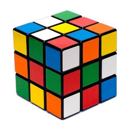 Как же собирают кубик Рубика