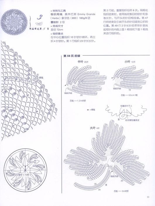 салфетка ландыши 1 б (530x700, 352Kb)