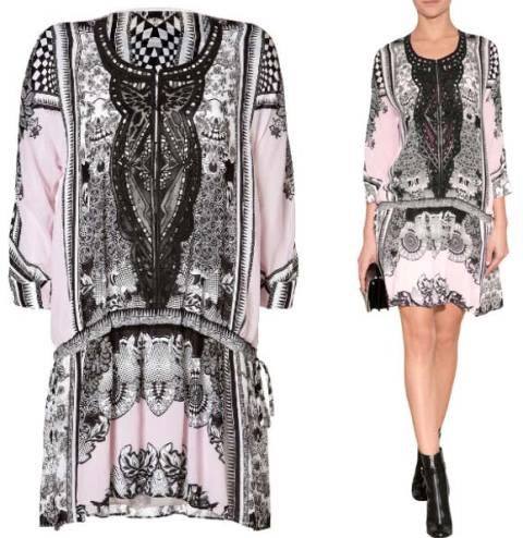 ROBERTO-CAVALLI-Printed-Nirvana-Tunic-Dress-with-Leather-Detailing (480x494, 156Kb)