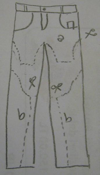 Болеро из джинсы как сшить 27