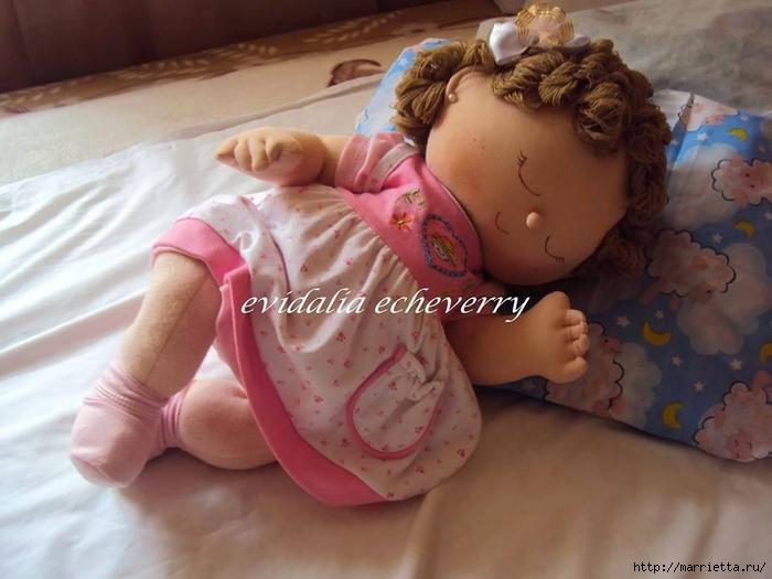 Выкройка малышки сплюшки. Шьем кукол (4) (700x525, 219Kb)