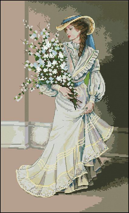 Dimensions 03767 - Portrait of Elegance (425x700, 387Kb)
