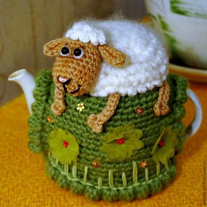 Вяжем грелку на чайник «Овечка на пригорке»/1783336_1504062259481 (700x700, 67Kb)